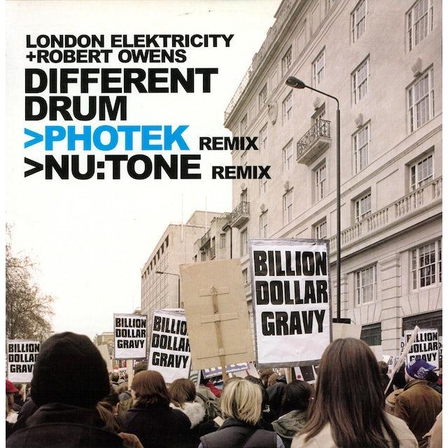 London Elektricity DIFFERENT DRUM Vinyl Record - UK Release