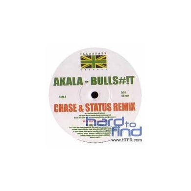 Akala BULLSHIT Vinyl Record
