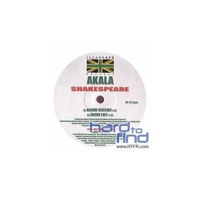Akala SHAKESPEARE Vinyl Record