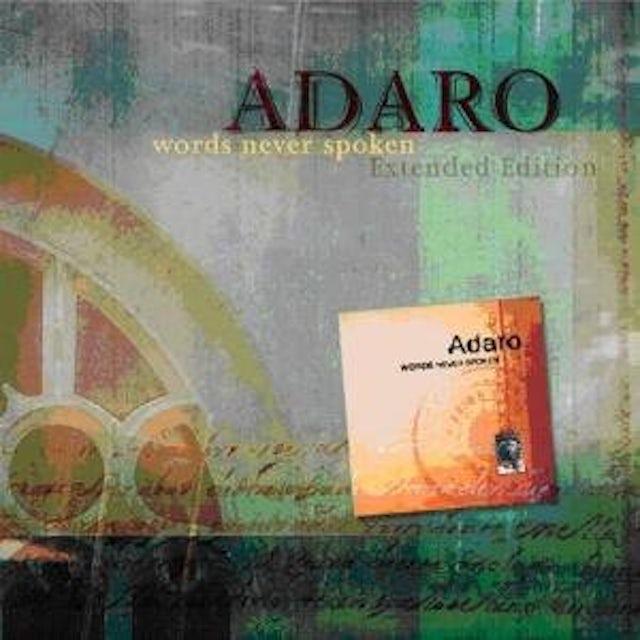 Adaro WORDS NEVER SPOKEN CD