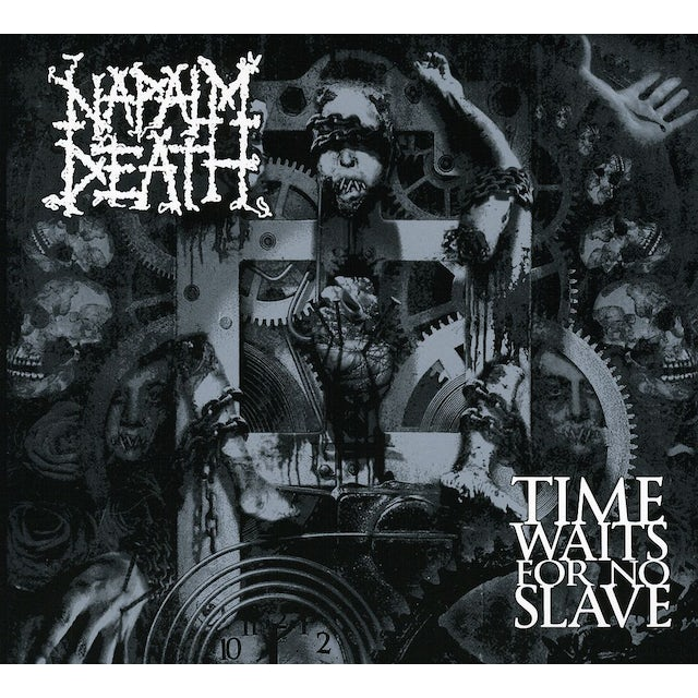 Napalm Death TIME WAITS FOR NO SLAVE-LIMITED CD