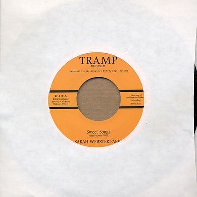 Sarah Webster Fabio SWEET SONGS Vinyl Record - UK Release