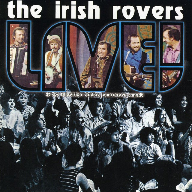 Irish Rovers LIVE CD