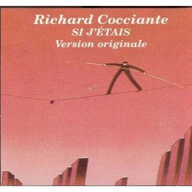 Richard Cocciante SI J'ETAIS (VERSION ORIGINALE) CD