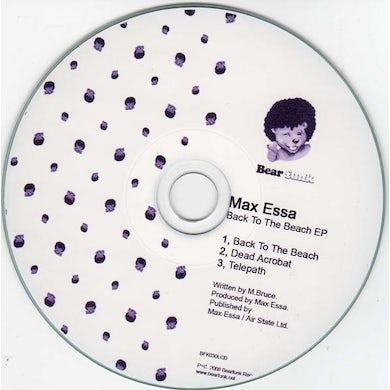 Max Essa BACK TO THE BEACH EP Vinyl Record - UK Release