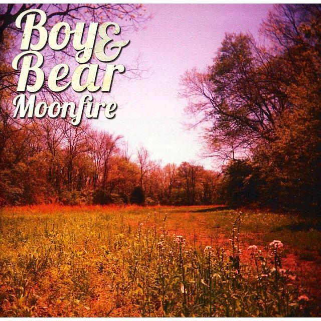 Boy & Bear MOONFIRE CD