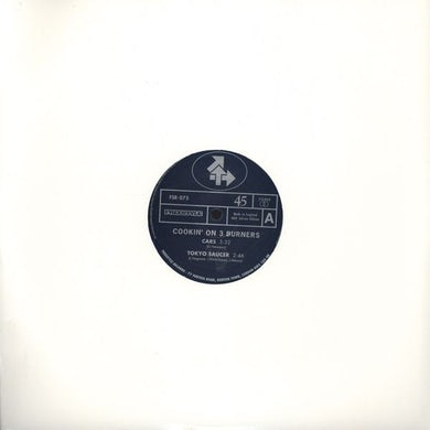 Cookin' on 3 Burners CARS Vinyl Record - UK Release