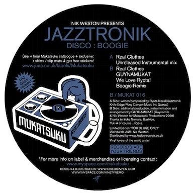 Jazztronik DISCO:BOOGIE Vinyl Record - UK Release