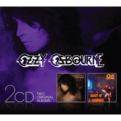 Ozzy Osbourne NO MORE TEARS/DIARY OF A MADMAN CD