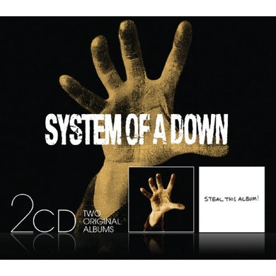 SYSTEM OF A DOWN / STEAL THIS ALBUM CD