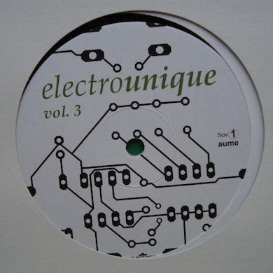 ELECTROUNIQUE 3 / VARIOUS Vinyl Record - UK Release