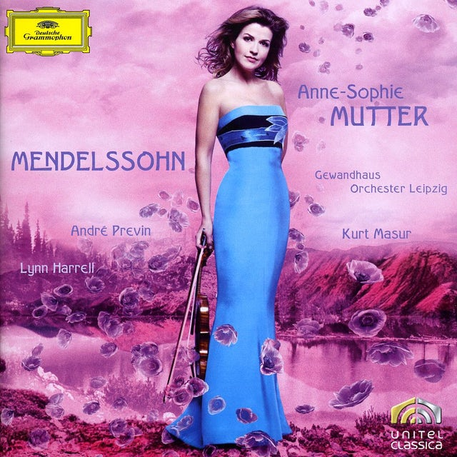 Anne-Sophie Mutter MENDELSSOHN: VIOLIN CONCERTO OP. 64 PIANO TRIO OP. CD