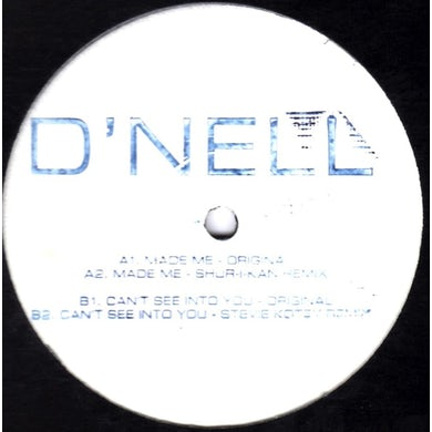 D'Nell MADE ME EP Vinyl Record - UK Release
