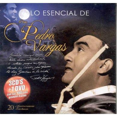 Pedro Vargas LO ESENCIAL CD