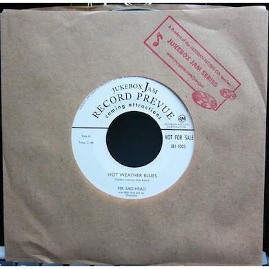 Mr Sad Head HOT WEATHER BLUES Vinyl Record - UK Release