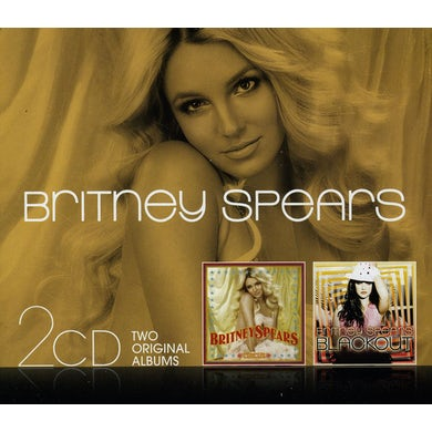 Britney Spears CIRCUS / BLACKOUT CD