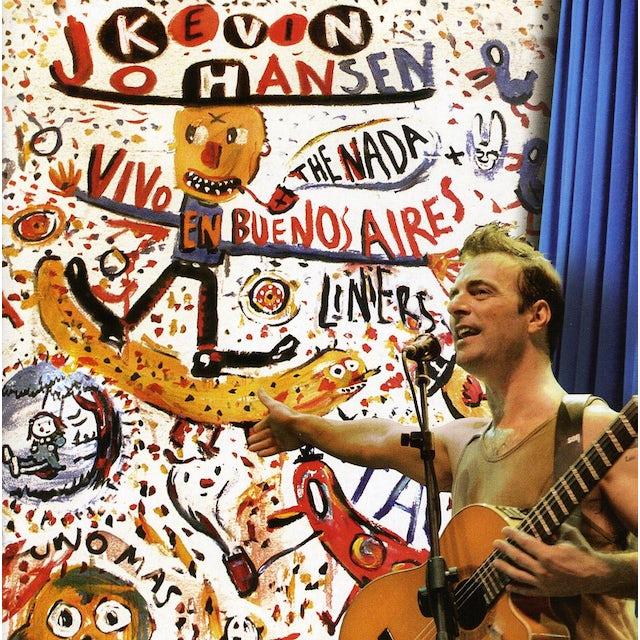 KEVIN JOHANSEN+THE NADA+LINIERS: VIVO EN BUENOS AI CD