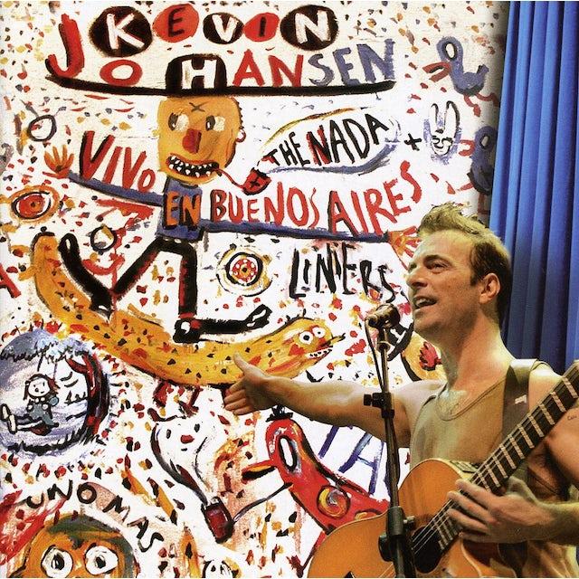 Kevin Johansen VIVO EN BUENOS AIRES + LINERS CD