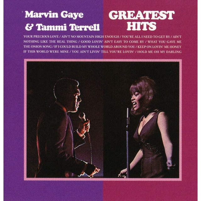 Marvin Gaye & Tammi Terrell GREATEST HITS CD
