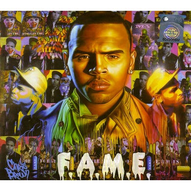 Chris Brown F.A.M.E. (ROW EXPLICIT DELUXE DIGIPACK) CD