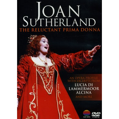 Joan Sutherland RELUCTANT PRIMA DONNA CD