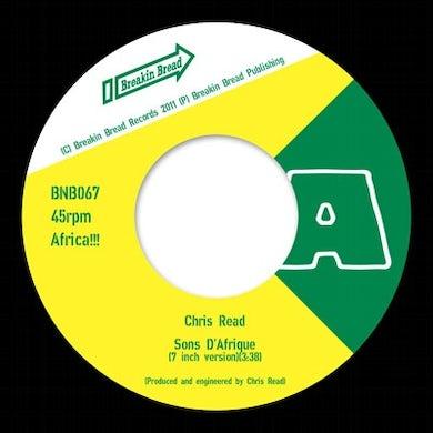 Chris Read SONS D'AFRIQUE Vinyl Record - UK Release