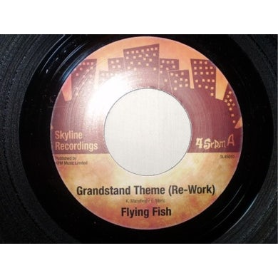Flying Fish GRANDSTAND THEME (RE-WORK) Vinyl Record - UK Release
