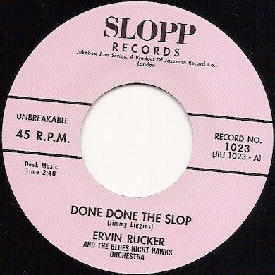 Ervin Rucker DONE DONE THE SLOP Vinyl Record - UK Release