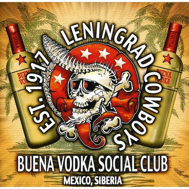 Leningrad Cowboys BUENA VODKA SOCIAL CLUB CD