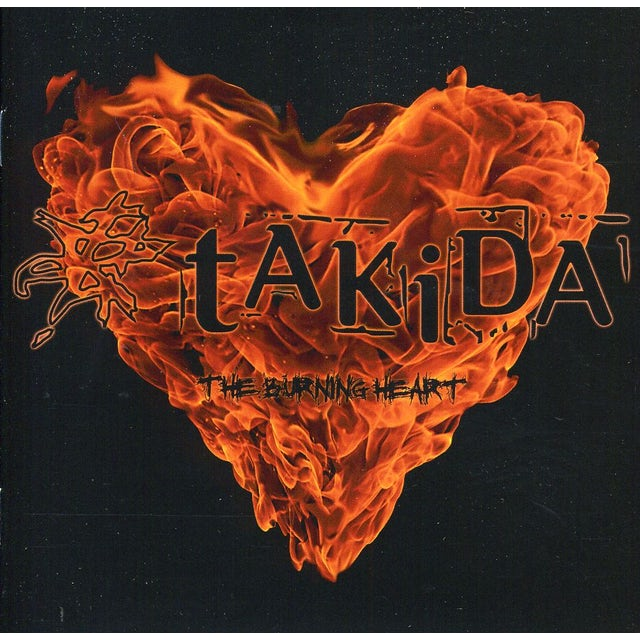 Takida BURNING HEART CD