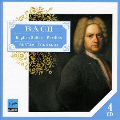 Gustav Leonhardt BACH ENGLISH SUITES-PARTITAS CD