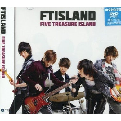 FTISLAND FIVE TREASURE ISLAND (JAPAN ALBUM) (VERSION B) CD
