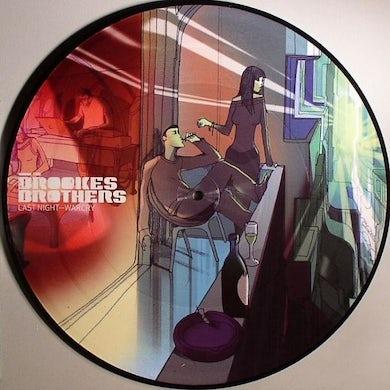 Brookes Brothers LAST NIGHT/WAR CRY Vinyl Record