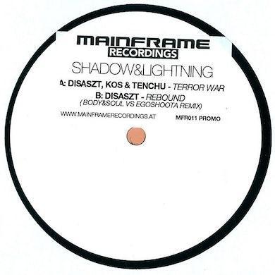 Disaszt TERROR WAR/REBOUND Vinyl Record