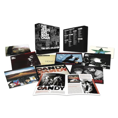 The Jesus and Mary Chain VINYL COLLECTION  (BOX) Vinyl Record - Limited Edition, 180 Gram Pressing