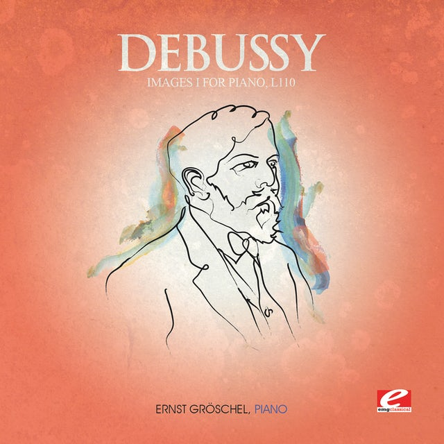 Debussy IMAGES I FOR PIANO CD
