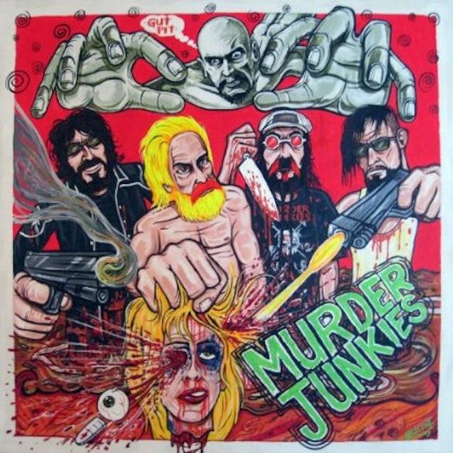Murder Junkies GUT PIT Vinyl Record