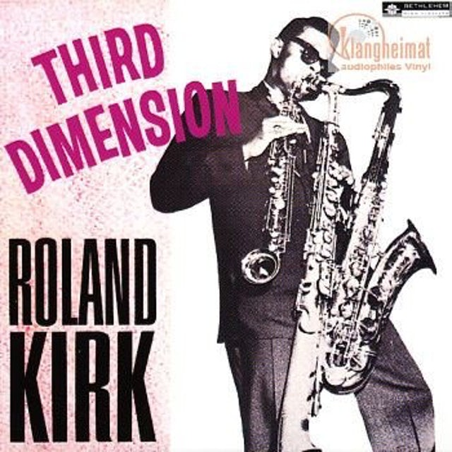 Roland Kirk THIRD DIMENSION Vinyl Record