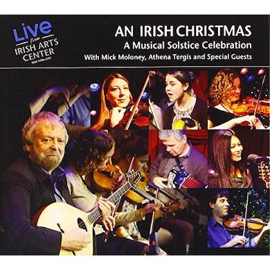 Mick Moloney AN IRISH CHRISTMAS (LIVE FROM IRISH ARTS CENTER) CD