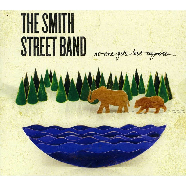 The Smith Street Band NO ONE GETS LOST ANYMORE CD