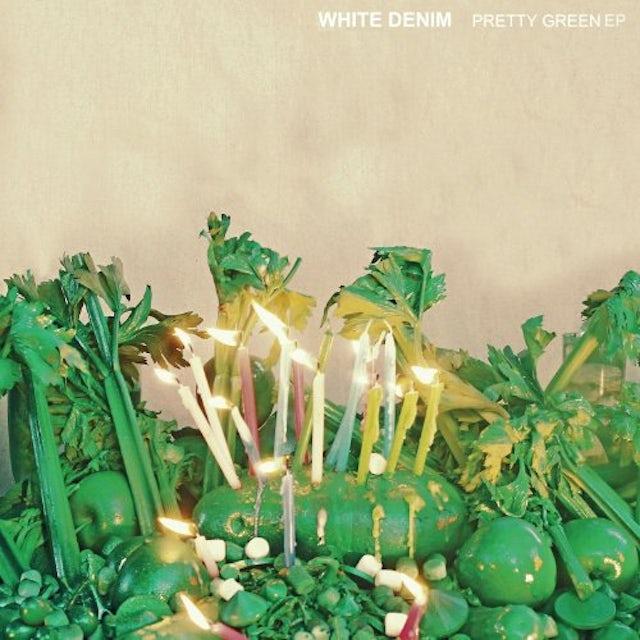 White Denim PRETTY GREEN Vinyl Record