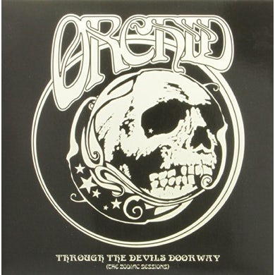 Orchid THROUGH THE DEVIL'S DOORWAY - THE ZODIAC SESSIONS Vinyl Record