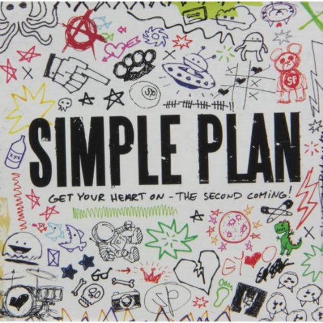 Simple Plan GET YOUR HEART ON: SECOND COMING CD
