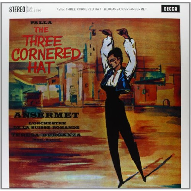 De Falla / Ansermet THREE-CORNERED HAT Vinyl Record