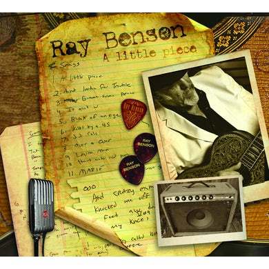 Ray Benson LITTLE PIECE CD