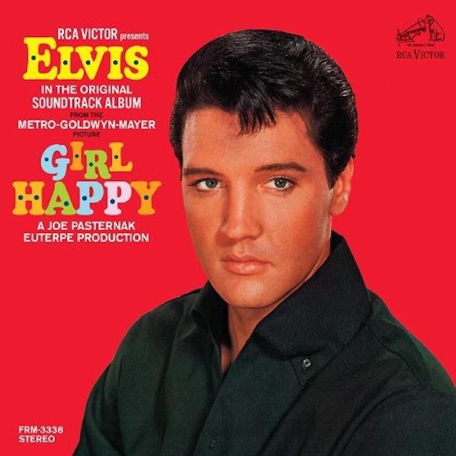 Elvis Presley GIRL HAPPY Vinyl Record