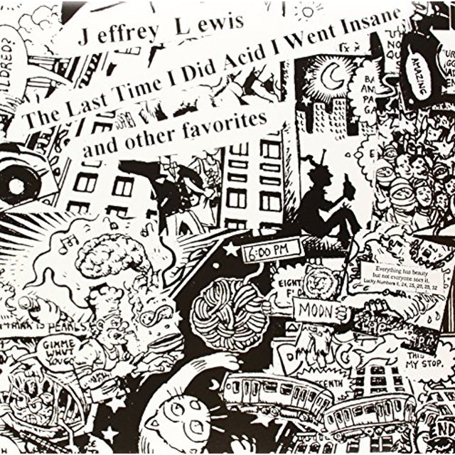 Jeffrey Lewis LAST TIME I DID ACID I WENT INSANE Vinyl Record