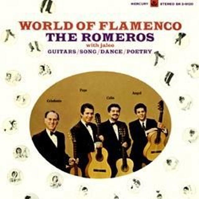 Romeros WORLD OF FLAMENCO Vinyl Record - 180 Gram Pressing