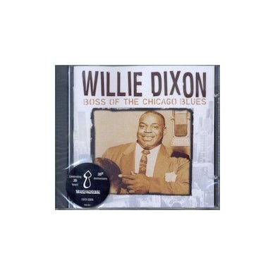 Willie Dixon BOSS OF THE CHICAGO BLUES CD