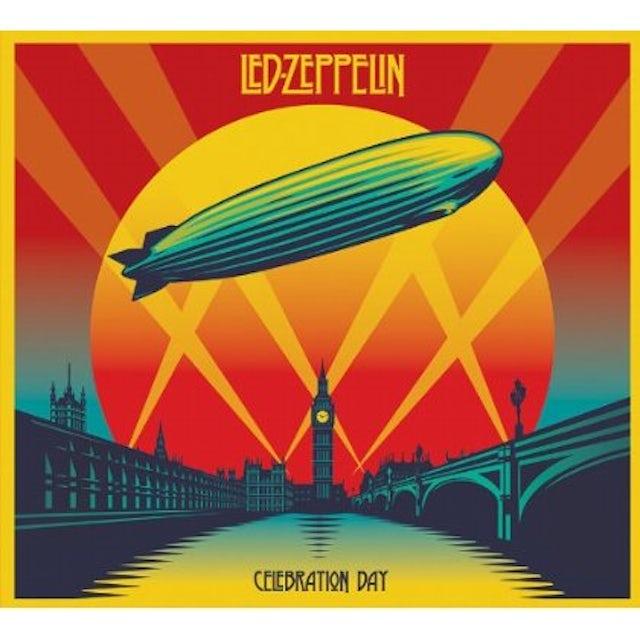 Led Zeppelin CELEBRATION DAY: DELUXE BLU-RAY/CD/DVD EDITION CD